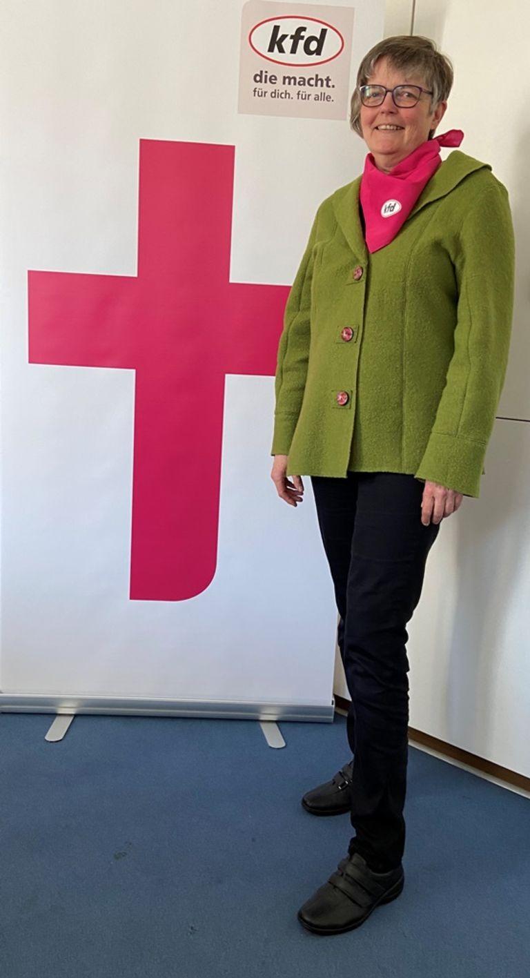Monika Heidenfells, Geistliche Leiterin im kfd Regionalverband Mönchengladbach